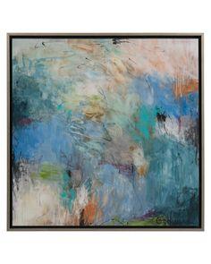 Susan Godwin's A Pop of Spring - Abstract - Wall Decor - Mirrors & Wall…