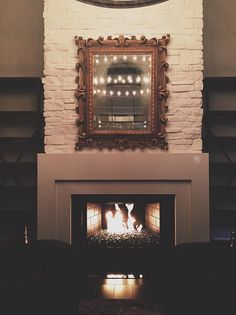 Kylie Jenner's fireplace is quite gorgeous