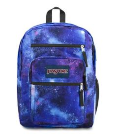 Shop the iconic JanSport Big Student backpack in dozens of colors & patterns. Plus, find other popular backpack styles from JanSport. Cool Backpacks For Men, Popular Backpacks, Big Backpacks, School Backpacks, Backpacks Jansport, Mochila Jansport, Jansport Backpack, Galaxy Backpack, Mini Backpack