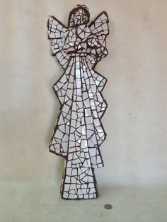 MOSAIC ANGEL by BOREEJON on Etsy, $150.00