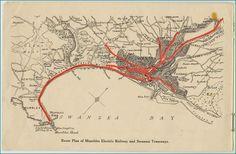 Map of Swansea Bay