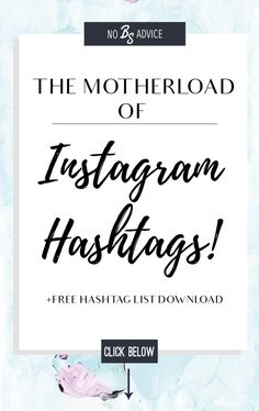 Instagram hashtags - Take the hassle out of instagram hashtags with my number one instagram tool and hashtah cheat sheet!  Small businesses,Entrepreneurs. Jewelry/Accessories. Blogging-Fashion, Lifestyle and Beauty Bloggers. Quotes. Decor/Interior Design. Moms/Mompreneurs. Food Bloggers. Fitness. Graphic Design/Photography Tutorials.