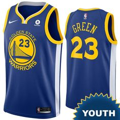 Golden State Warriors Nike Dri-FIT Youth Chinese Heritage  The Bay   Draymond Green  23 City Edition Swingman Jersey - Indigo 47d589ad3
