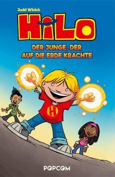 """Ein rasanter Comic ab 10 Jahren: """"Hilo. Der Junge, der auf die Erde krachte"""" von Judd Winick / neu bei Popcom"""