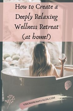 Here's my ultimate guide to creating the deeply relaxing wellness retreat you didn't know you needed from the comfort of your own home. Health Retreat, Yoga Retreat, Mindfulness Retreat, Spiritual Wisdom, Spiritual Awakening, How To Relax Your Mind, Intuitive Empath, Mental Health Day, Cold Home Remedies