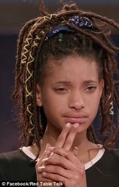 Willow Smith reveals she's always been jealous of curvy girls Willow Smith, Dreadlocks, Hair Inspo, Hair Inspiration, Twists, Curly Hair Styles, Natural Hair Styles, Brown Skin Girls, Estilo Retro