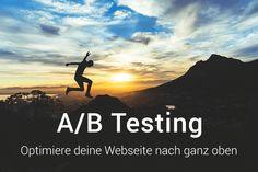 Wie du A/B Tests zur Optimierung deiner Webseite nutzt.