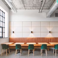 """Agency 59 office by MSDS celebrates """"rawness"""" of Toronto car factory Restaurant Interior Design, Shop Interior Design, Best Interior, Rustic Restaurant, Design Café, Cafe Design, Shop Interiors, Office Interiors, Commercial Design"""