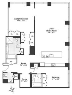general condo floor plans | Nash Hardware Research | Pinterest ...