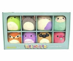 Xmax Kelly Toy Squishmallow 8 pack Plush Set New in Box Plush Dolls, Doll Toys, Raccoon Stuffed Animal, Christmas Presents For Kids, Xmax, Baby Penguins, Rabbit Toys, Cute Plush, Child Doll