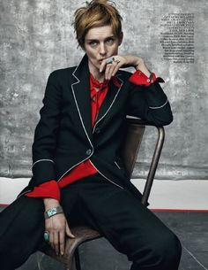 Stella Tennant - Vogue Magazine Pictorial [United Kingdom] (July 2015). Tennant is Deborah Mitford's granddaughter.