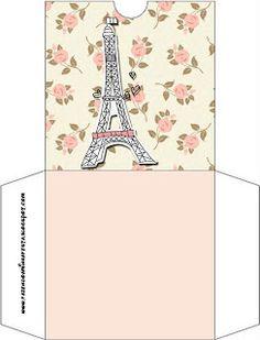 Kit para Festa Floral Paris