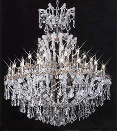 Aliexpress.com : Buy Luxury crystal chandelier lighting 48 lights hanging chrome crystal chandelier for passage C9285,120cm W x 148cm H from Reliable crystal chandelier suppliers on HK SUNWE LIGHTING CO., LTD.