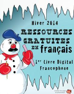 FREE! WINTER 2014 TPT FRENCH RESOURCES/ Ressources gratuites en français!