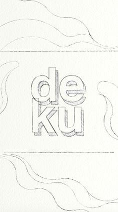 sketch for DEKU coffee