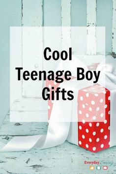 Cool Teenage Boy Gifts. Are you Looking for cool teenage boy gifts? We found some really neat things that your boys will love.