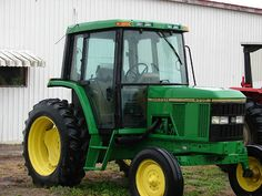 Used John Deere 6200 Tractor