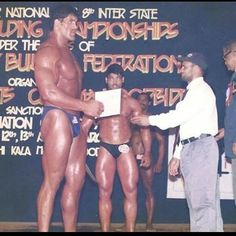 Pic of the Great Khali in his bodybuilding days. #bodybuilding #fitness #gym #fitfam #workout #muscle #health #fit #motivation #abs #fitspo