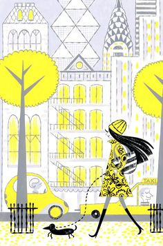 NYC Spring by alidouglass on Etsy