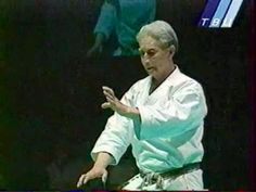 Nishiyama sensei demonstration performing Hangetsu during the Intercontinental Cup 2000 in Moscow, Russia.