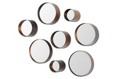 Lara Accent Mirror Set, Silver | Mirrors for All | One Kings Lane