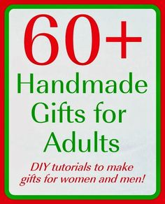 It's never too early to start your Christmas shopping.  In fact, I tend to shop all year long and just squirrel gifts away in my Gift Closet.  However, there is nothing quite as special as a handmade gift, and a few friends of mine have put together a great collection of handmade gifts for adults that you can make in time for Christmas! Pin Check...Read More