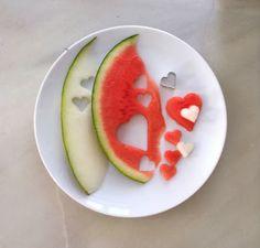 El hada de papel: Corazones de fruta / Fruit hearts / Frucht-Herzen