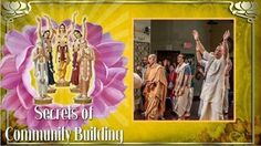Secrets of community building and personal growth in Devotional Service (video) Srimad Bhagavatam Class by HG Vaisesika Dasa in…