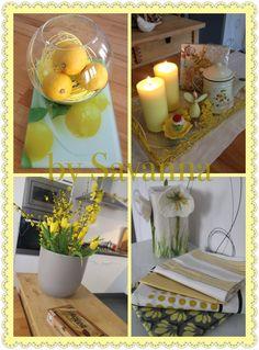 Yellow amarelo gelb Home decor