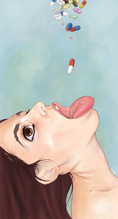 Sexually-Charged Illustrations by Luis Quiles