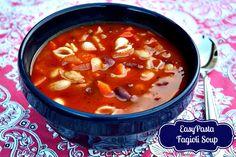 Mommy's Kitchen: Crock Pot Pasta Fagioli Soup