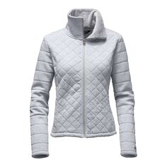 The North Face Women's Caroluna Crop Jacket - Past Season - Small - TNF Light Grey Heather