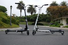 Black and White Drifters by RageCRUISER -- They call it the wiggly bike!
