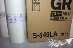 Riso S549LA Duplicator Masters