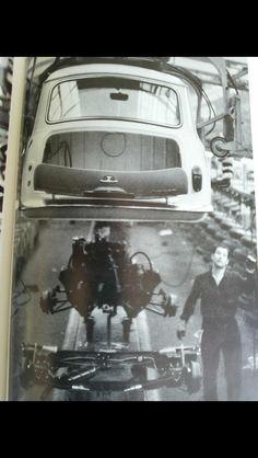 Production line Mini Morris, Coolest Cars, Vintage Vespa, Mini Stuff, Fancy Cars, Ghost Rider, Classic Mini, Building Ideas, Love Is All