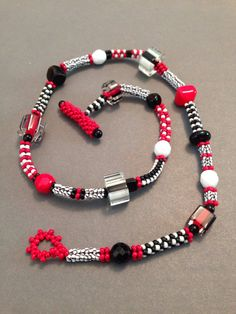 Black and White with Red All Over by Beth Stone