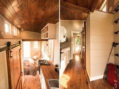 Interior Views - Boxcar by Timbercraft Tiny Homes