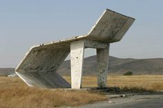 bus stop by USSR I (some kind of art for me)
