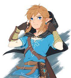 Legend of Zelda Breath of the Wild art > Link The Legend Of Zelda, Legend Of Zelda Memes, Legend Of Zelda Breath, Link Zelda, Game Character, Character Design, Link Botw, Image Zelda, Princesa Zelda