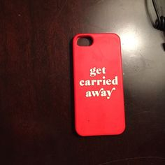 Kate spade get carried away iPhone 5 case Kate spade, iPhone 5, ask questions kate spade Other