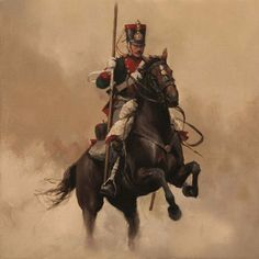 Lanceros de Numancia 1847 Military Art, Military History, Independence War, Military Modelling, Historical Art, Napoleonic Wars, Modern Warfare, American Civil War, Horse Riding