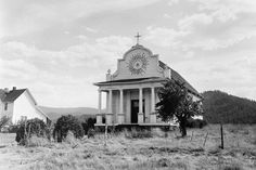 """Cataldo Mission, Idaho  Idaho – may be from Plains Apache ídaahę́, """"enemy"""", used to refer to the Comanches, or it may have been an invented word.    Derived from Native Nations: Idaho -A coined name with an invented Indian meaning: """"gem of the mountains;"""" originally suggested for the Pike's Peak mining territory (Colorado), then applied to the new mining territory of the Pacific Northwest. Another theory suggests Idaho may be a Kiowa Apache term for the Comanche."""