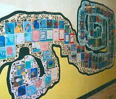 Quilt Fundraiser - great idea to engage lots of people!