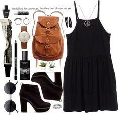 cool black shoes