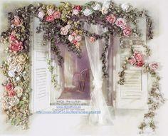 Woodland Fox con Floral bellota tocado-Panel De Tela Artesanal Acolchar