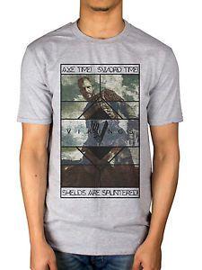 6a883aa3 Official Vikings Axe Time T-Shirt Sword Time Ragnar Lothbrok Floki ...