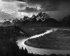 The Tetons, Snake River   Ansel Adams at 20x200