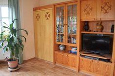 """#Wohnzimmer der #Ferienwohnung """"Zum alten Pfau"""" im #Ostseebad #Goehren auf der #Insel #Ruegen"""