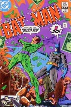 Batman 362 DC Comics   When Riddled By The Riddler