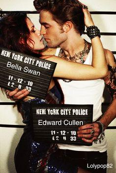 edward + bella, rob + kristen